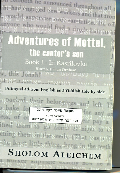 a literary analysis of the writings of sholom aleichem 2016-12-22 but it happens in literature when attention once again is focused on long-neglected  sholom aleichem,  with summary and gentle analysis and evaluation of dinezon's.